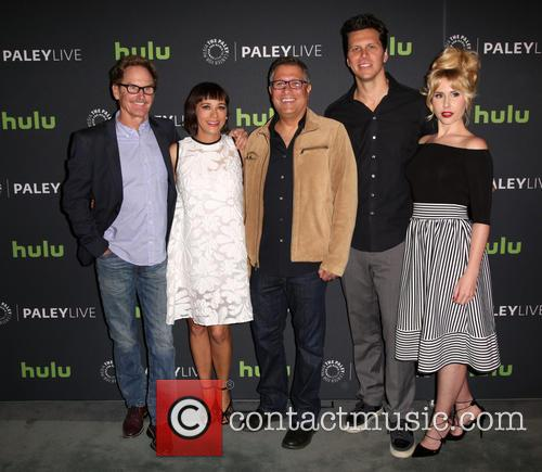 Jere Burns, Rashida Jones, Ira Ungerleider, Hayes Macarthur and Andree Vermeulen 10
