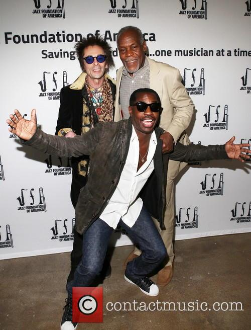 Earl Slick and Danny Glover 1