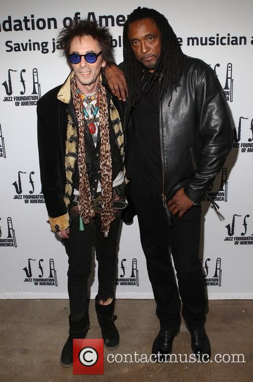 Earl Slick and Bernard Fowler 2