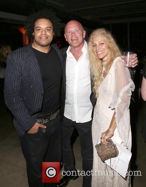 Eric Lewis, Michael Novogratz and Wendy Oxenhorn 1