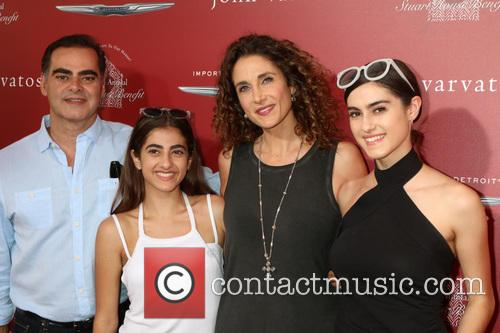 Peter Constantinides, Karina Eleni Constantinides, Melina Kanakaredes and Zoe Constantinides 1