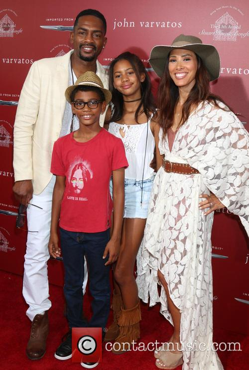 Bill Bellamy, Kristen Bellamy and Family 3