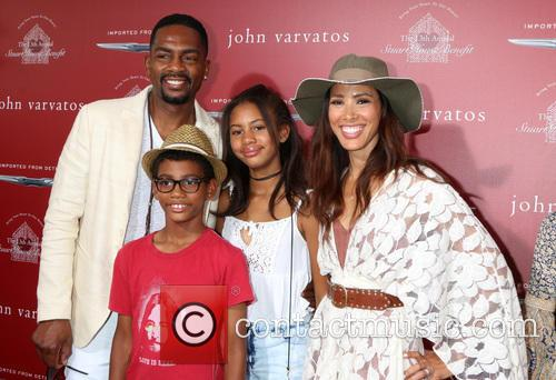 Bill Bellamy, Kristen Bellamy and Family 4
