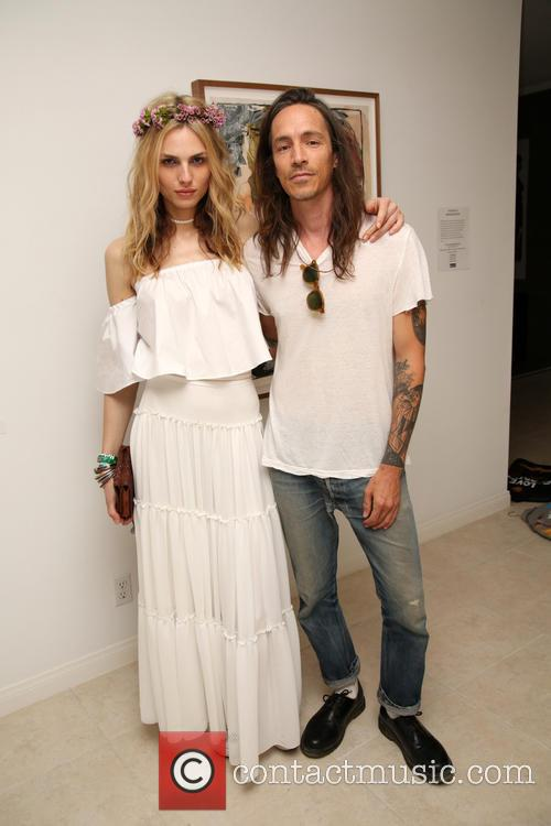 Andreja Pejic and Brandon Boyd 1