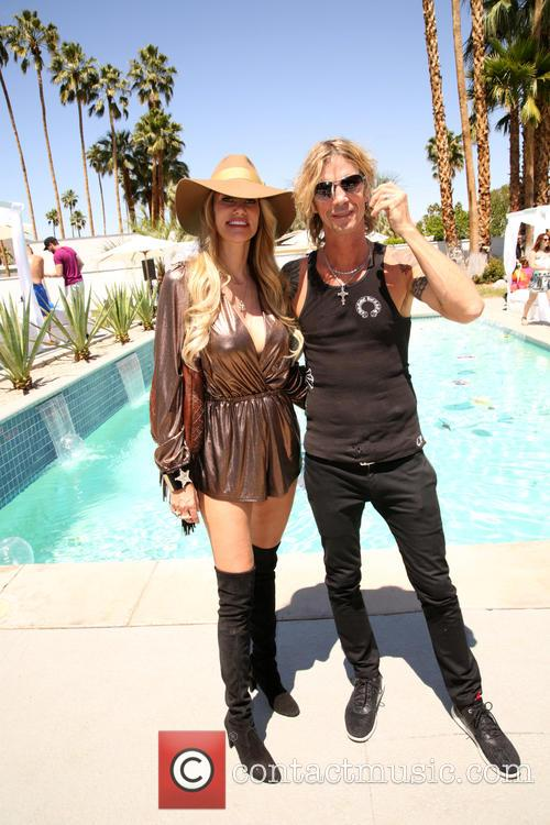 Susan Holmes-mckagan and Duff Mckagan 7