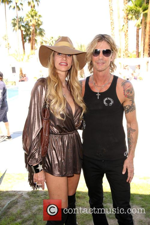 Susan Holmes-mckagan and Duff Mckagan 9