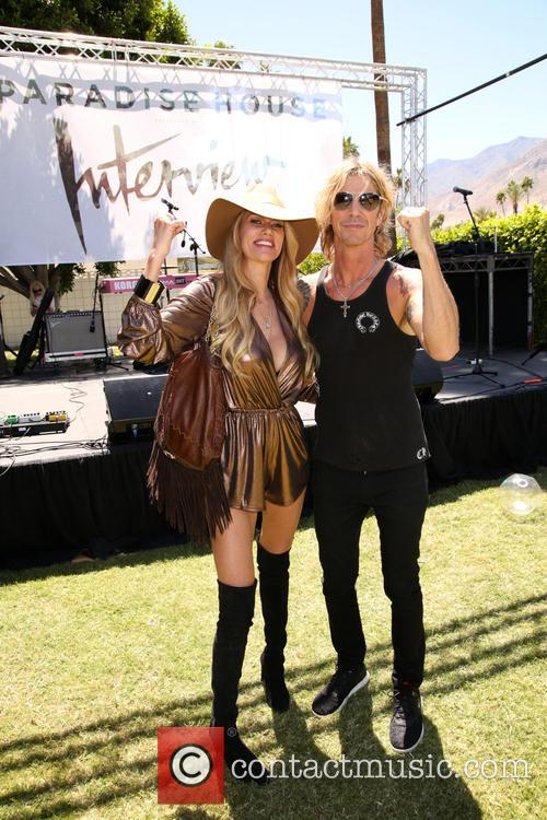 Susan Holmes-mckagan and Duff Mckagan 10