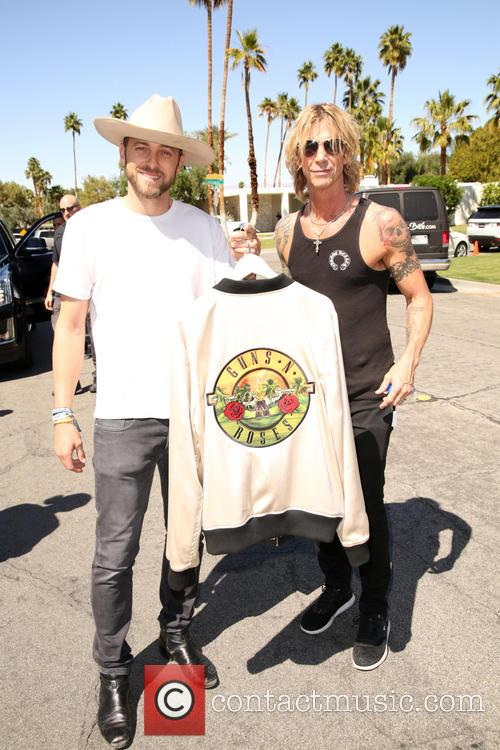 Ayler Young and Duff Mckagan 1