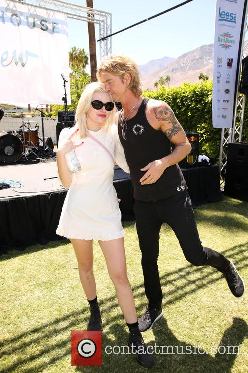 Grace 'grave' Mckagan and Duff Mckagan 6
