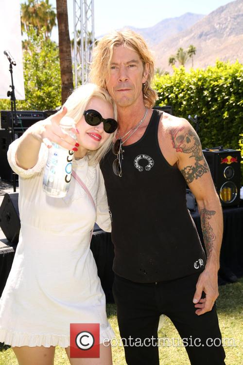 Grace 'grave' Mckagan and Duff Mckagan 7