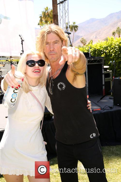 Grace 'grave' Mckagan and Duff Mckagan 8