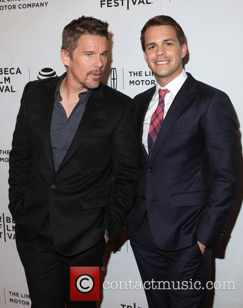 Ethan Hawke and Johnny Simmons 3