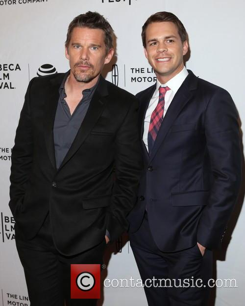 Ethan Hawke and Johnny Simmons 4