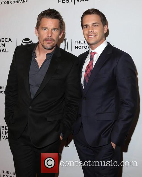 Ethan Hawke and Johnny Simmons 5