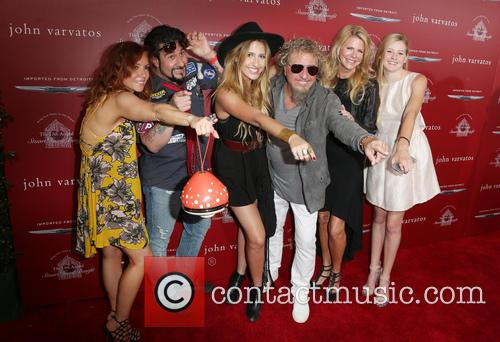 Sammy Hagar and Kari Hagar 5