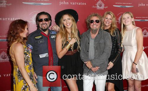 Sammy Hagar and Kari Hagar 8