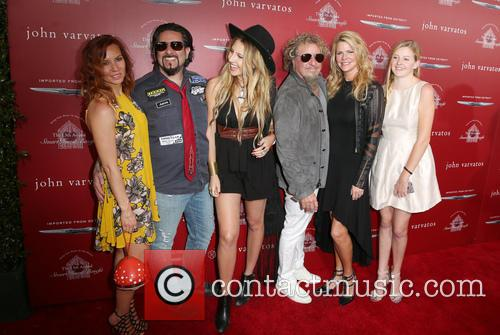 Sammy Hagar and Kari Hagar 9