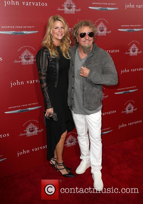 Sammy Hagar and Kari Hagar 11