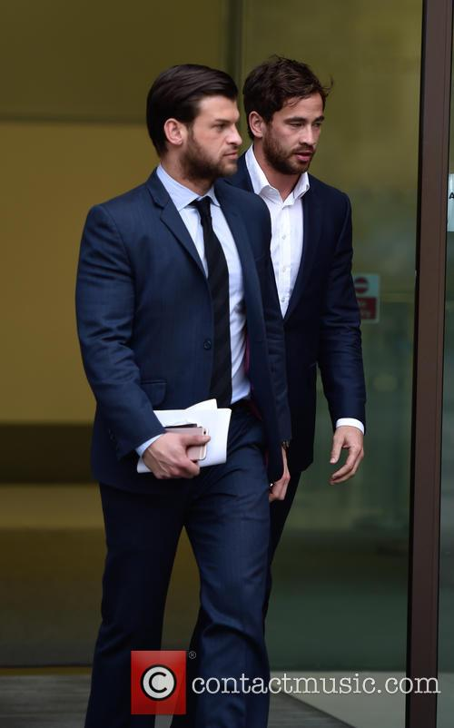 Danny Cipriani leaving Westmister Magistrates Court