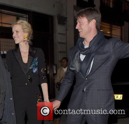 Celebrities depart from Naomi Campbell's book launch
