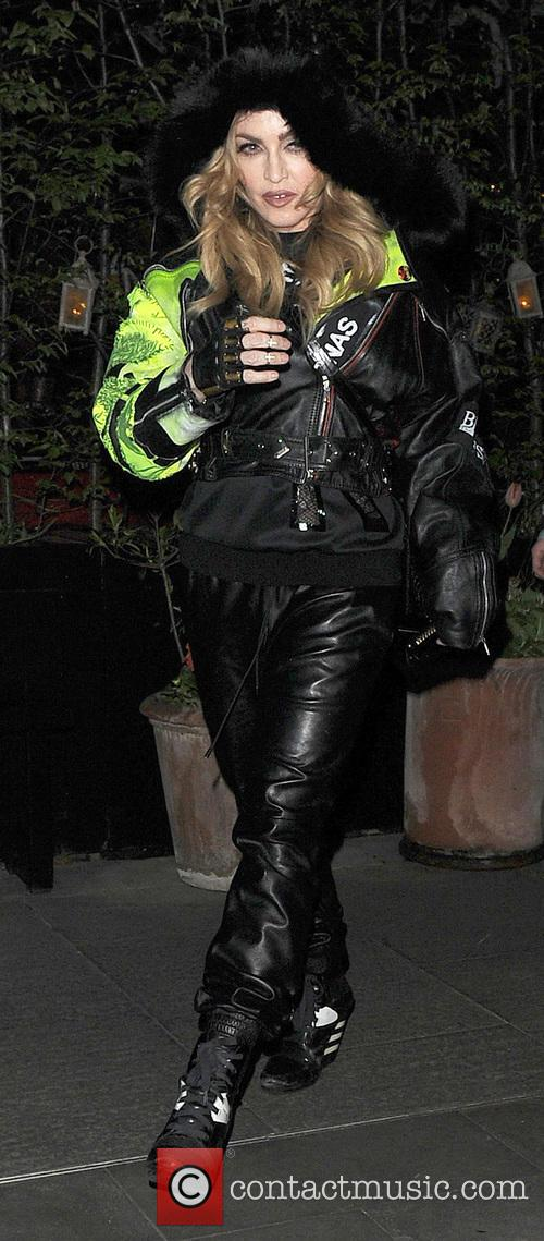 Madonna and her son Rocco Ritchie leave the...