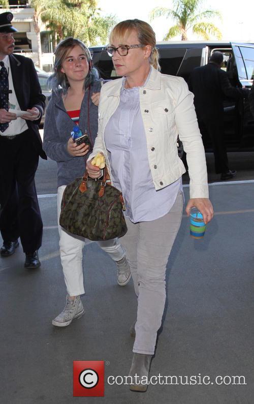 Harlow Olivia Calliope Jane and Patricia Arquette 2