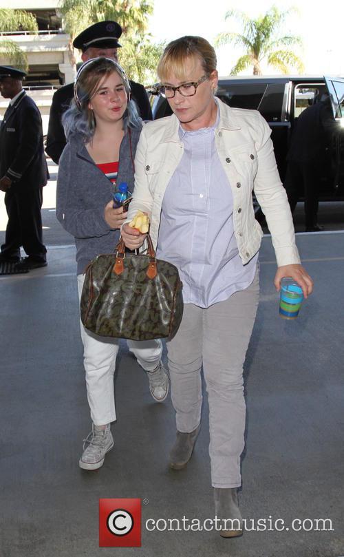 Harlow Olivia Calliope Jane and Patricia Arquette 3