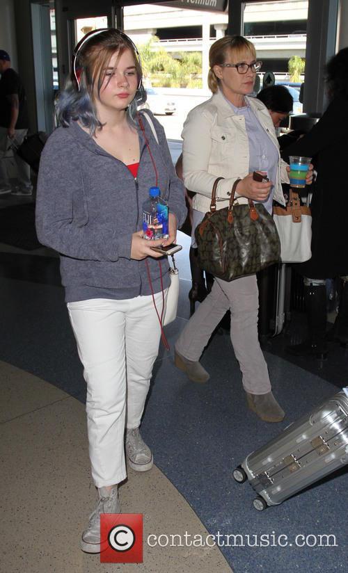 Harlow Olivia Calliope Jane and Patricia Arquette 6
