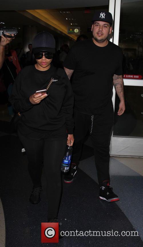 Rob Kardashian and Blac Chyna 3