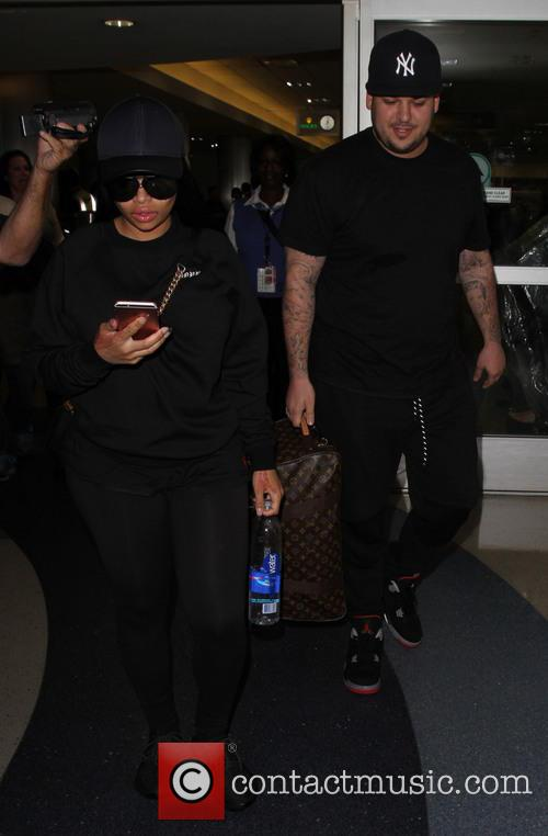 Rob Kardashian and Blac Chyna 4