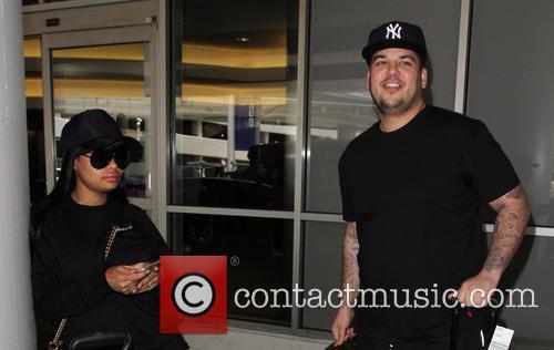 Rob Kardashian and Blac Chyna 7
