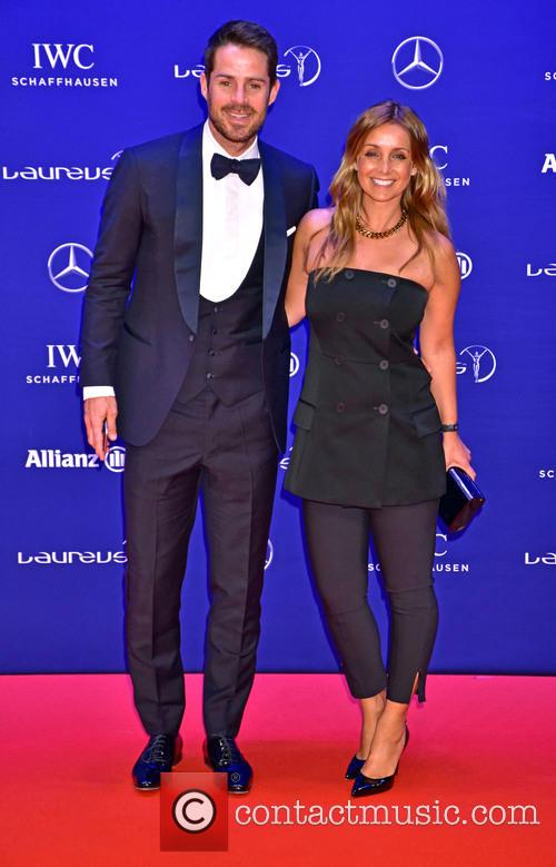Jamie Redknapp and Louise Redknapp 1