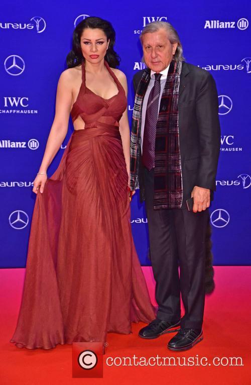 Brigitte Sfat and Ilie Nastase 1