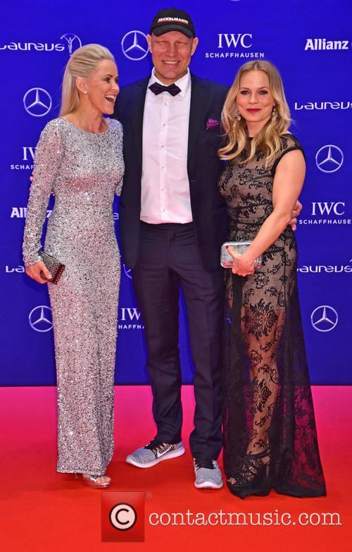 Patricia Schulz, Axel Schulz and Regina Halmich 2