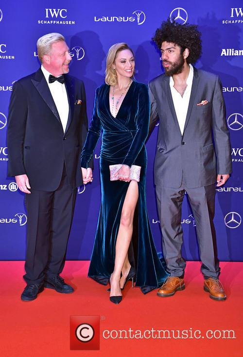Boris Becker, Lilly Becker and Noah Becker 1