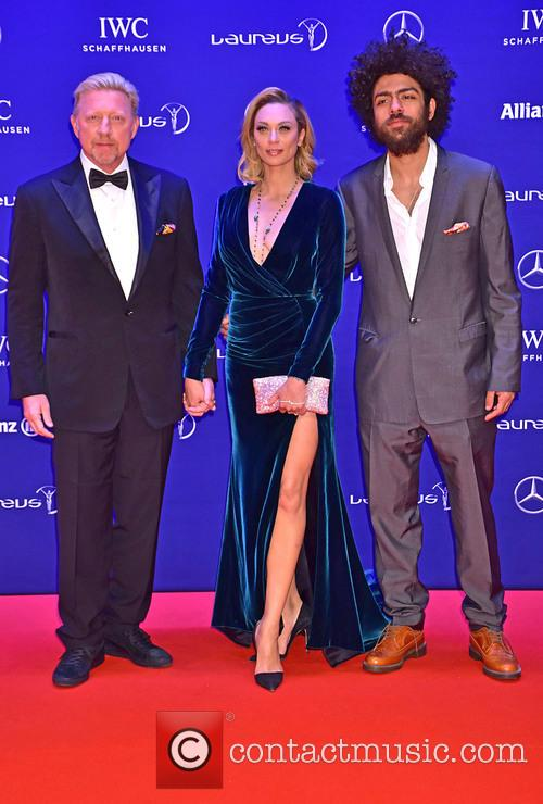 Boris Becker, Lilly Becker and Noah Becker 2