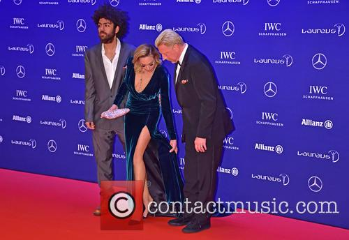 Noah Becker, Lilly Becker and Boris Becker 4