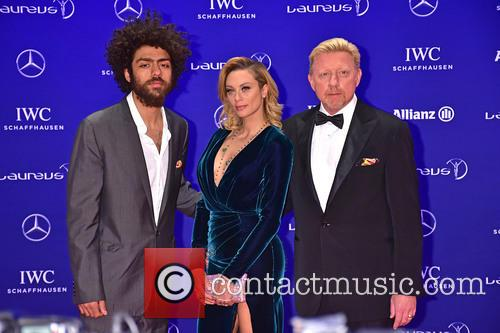 Noah Becker, Lilly Becker and Boris Becker 5