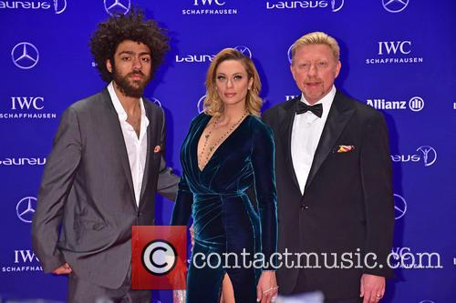 Noah Becker, Lilly Becker and Boris Becker 6