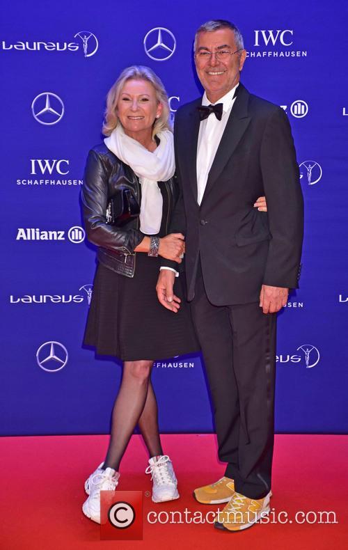 Sabine Christiansen and Norbert Medus 2