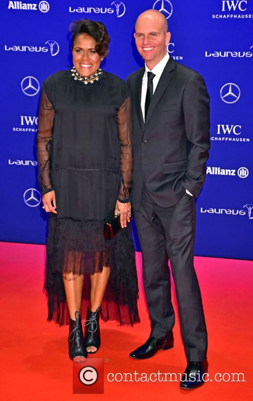 Cathy Freeman and James Murch 1