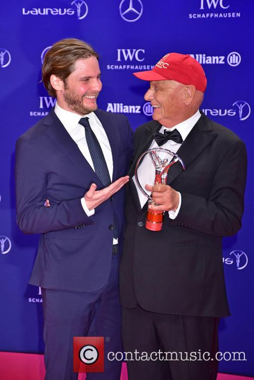 Daniel Bruehl and Niki Lauda 9