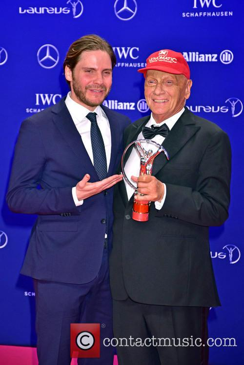 Daniel Bruehl and Niki Lauda 10