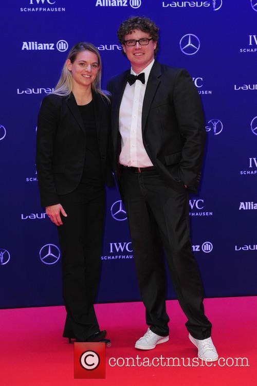Nia Künzer and Felix Groh 1