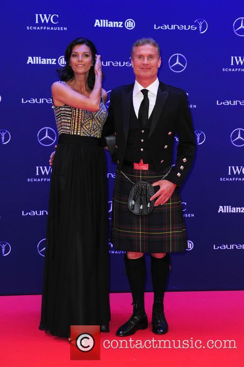 Karen Minier and David Coulthard 4