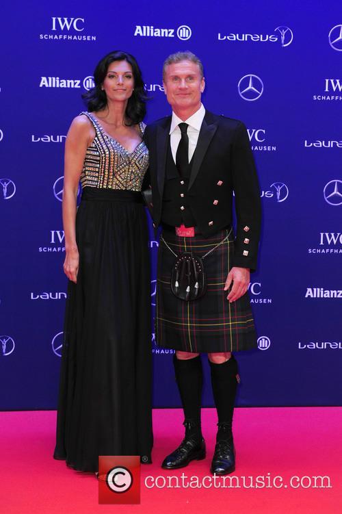 Karen Minier and David Coulthard 5