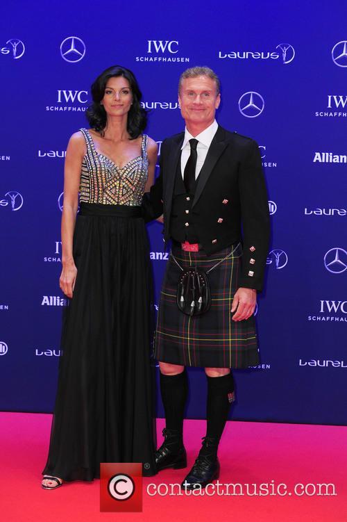 Karen Minier and David Coulthard 6