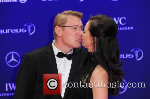 Marketa Remesova and Mika Häkkinen 4
