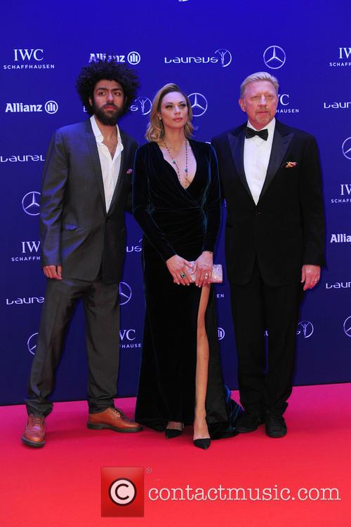 Noah Becker, Lilly Becker and Boris Becker 8