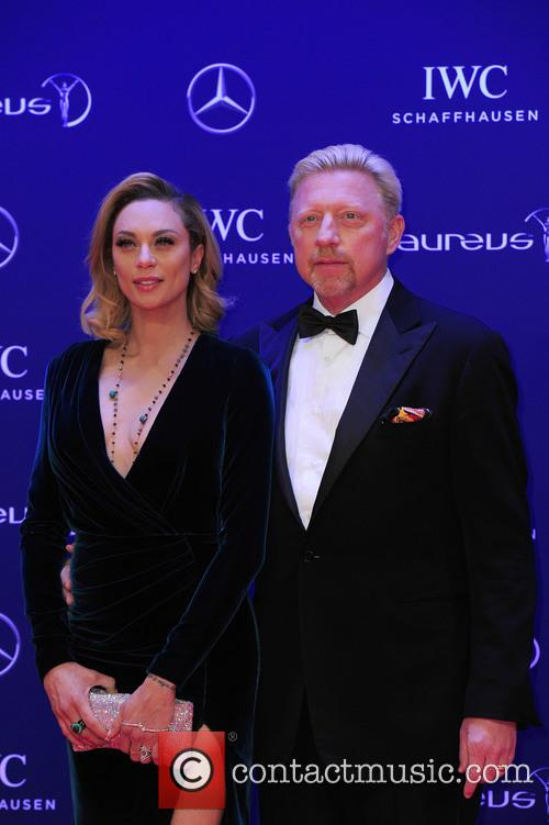 Lilly Becker and Boris Becker 9